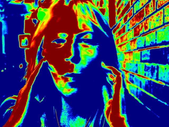 Me doing my Munch Scream Face again.