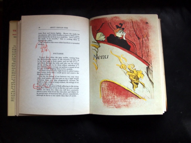 from 'The Art of Cuuisine'  by Toulouse -Lautrec and Maurice Joyant.