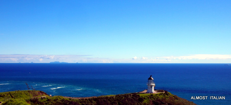 Travel Theme: Horizons. Cape Reinga, NewZealand.