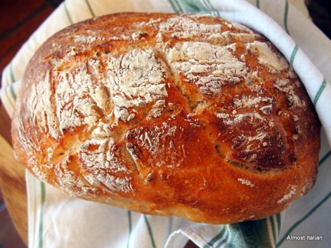 Golden crusted loaf