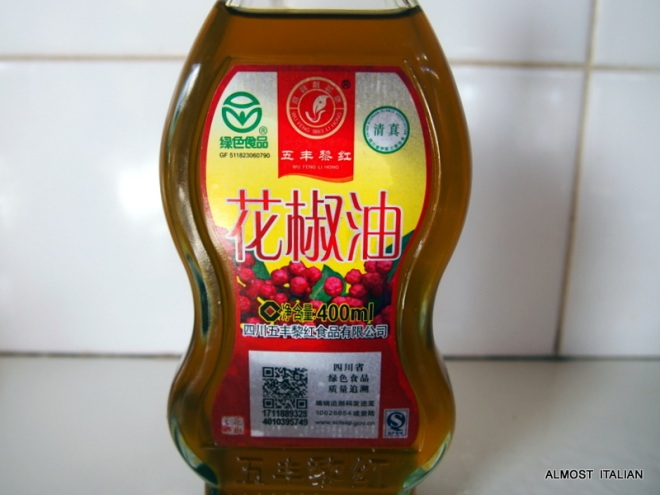 Sechuan Pepper oil