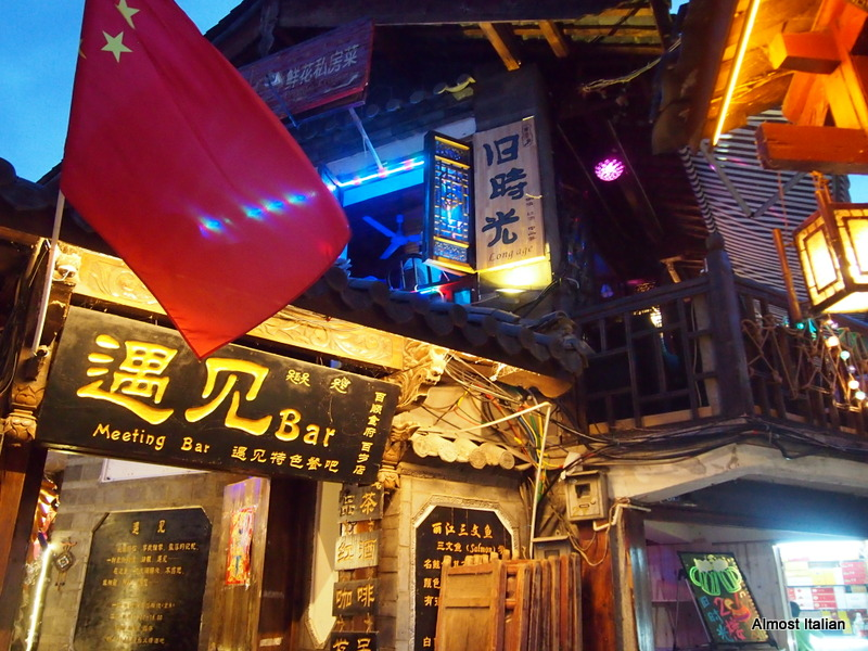 Lijiang by night.