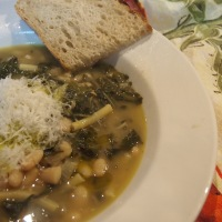 My Favourite Soup. An all year silverbeet recipe.