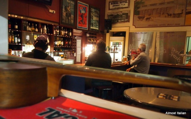 The Burra Hotel: Micheal the new manager is bound to do well.