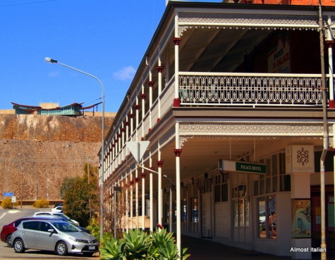 Victorian architecture and mullock heaps.