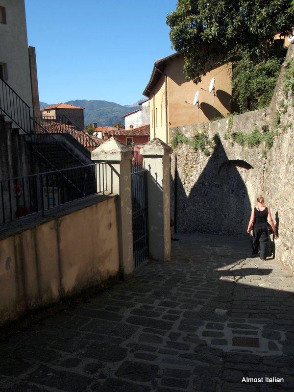 Back streets of Barga