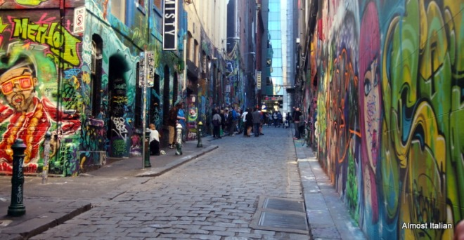 Many tourists enjoy walking around Melbourne and these lanes are now on the itinerary.