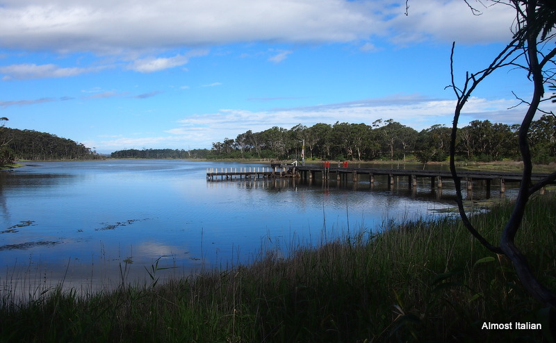 The iviting h=jetty at Fishermans Landing