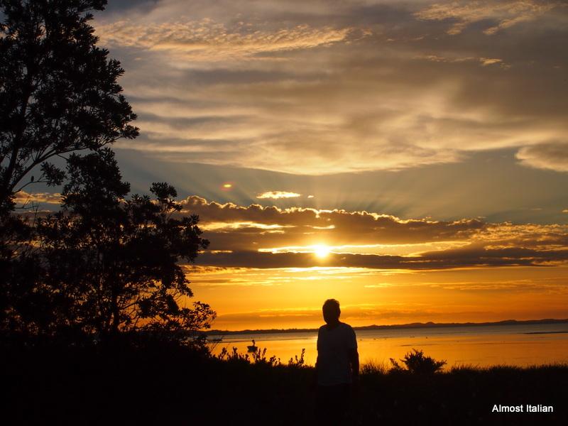 Gloriuos sunsets of Port Phillip Bay