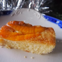 Sweet Inspiration. Mango and Coconut Upside-down Cake.
