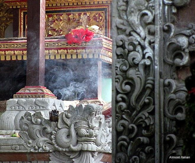 Canang Sari at the Honeymoon Guesthouse, ubud.
