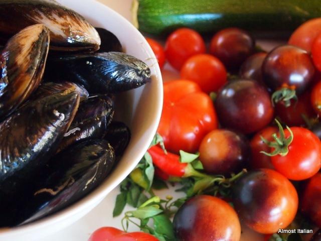 Zuppa Estiva Di Cozze Summery Mussel Soup Almost Italian