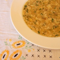 Risotto all'Onda for Carla.
