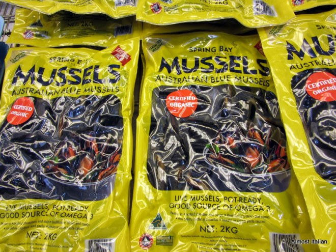 Blue Mussels, 2 kilos for $9.95
