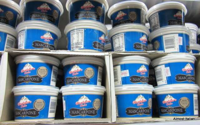 Large 500gr tubs of mascapone at a bargain price.