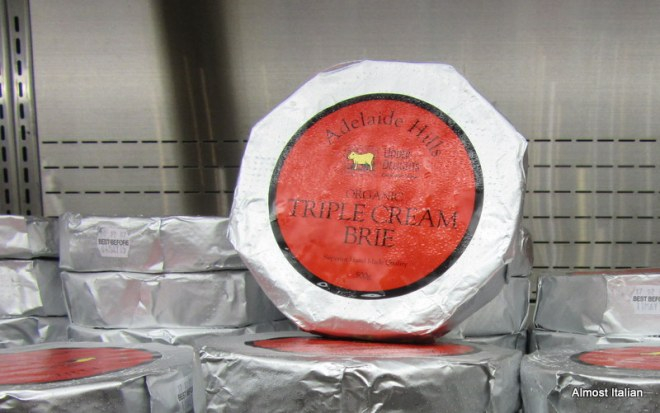 Adelaide Hills Brie. $11.95