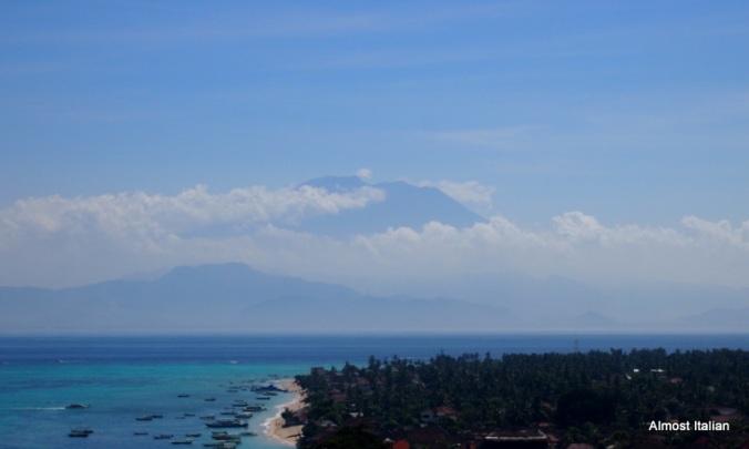 Gunung Agung taken from Nusa Lembongan