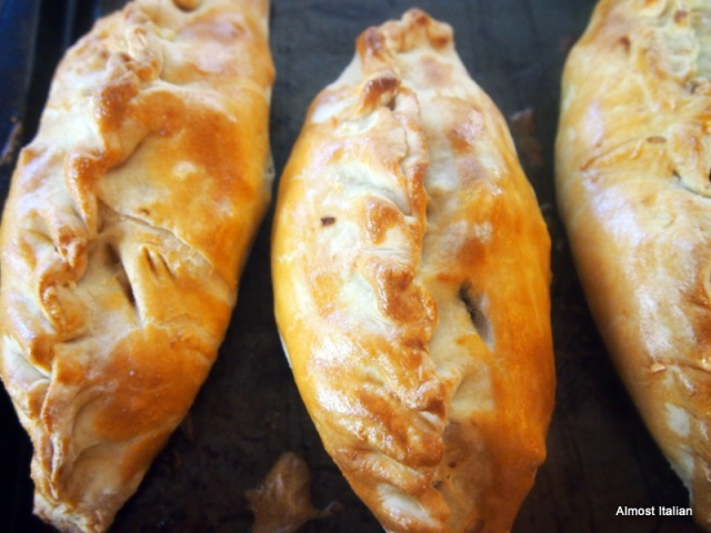 Vegetarian Cornish Pasties.