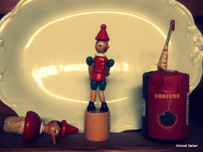 Pinocchio, and friends