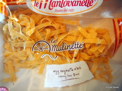 Malfaldine or Reginette Pasta