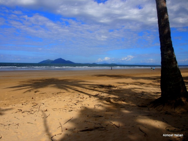 View of Dunk Island from Mission beach, Far North Queensland, Australia.