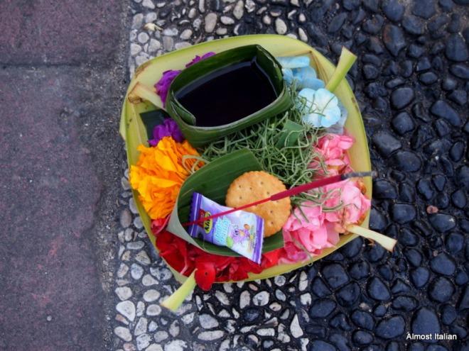 Kanang sari, Bali