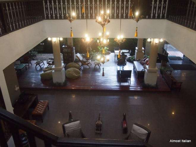 Lobby , the 3 Sis, Chiang Mai.