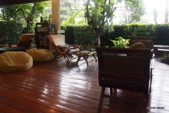 The lobby, 3 Sis, Chiang Mai