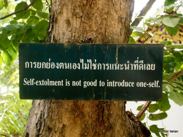 Under the Bodhi trees, a little philosophy awaits.