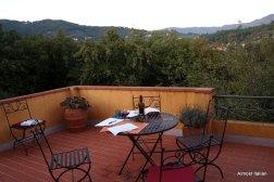 The terrace. Casa dello Scrittore, Lucca