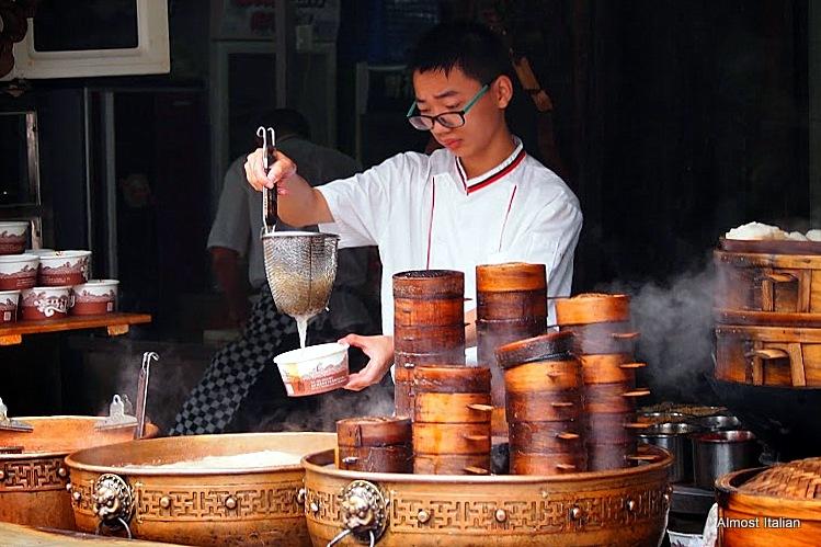 Steaming baskets, Chengdu, Chna