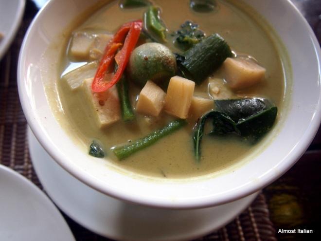 Thai Green curry. Hmmmmm.