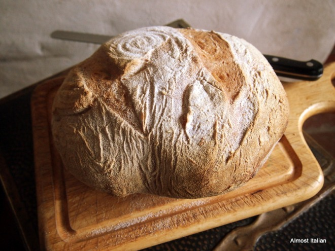 Sour dough white, Celia's recipe.