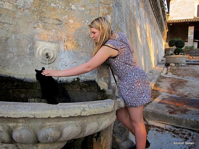 Mischa ed il gatto nero