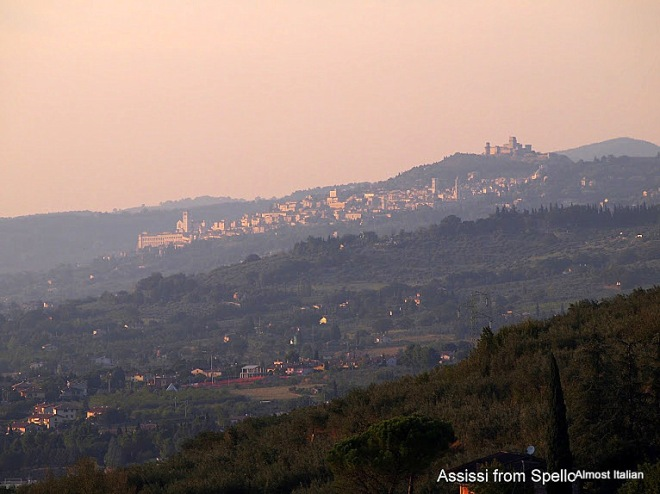 Assissi from Spello