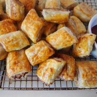 The Vegetarian's Sausage Roll