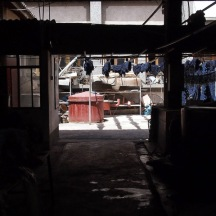 Indigo Factory, Lake Erhai, Dali, Yunnan, China.