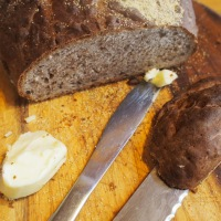 Pane Festivo. Christmas Walnut Bread