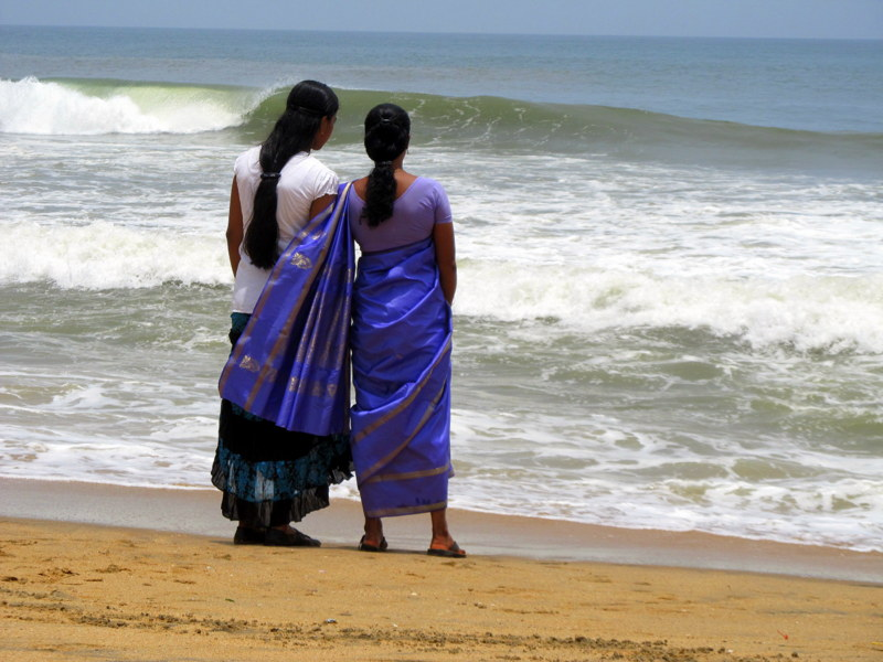Varkala girls by the sea