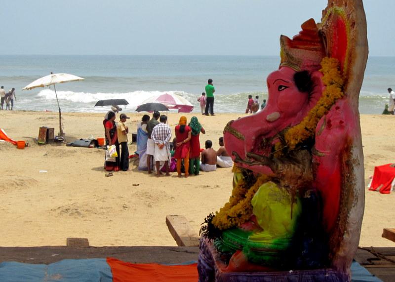 Ganesha by the sea