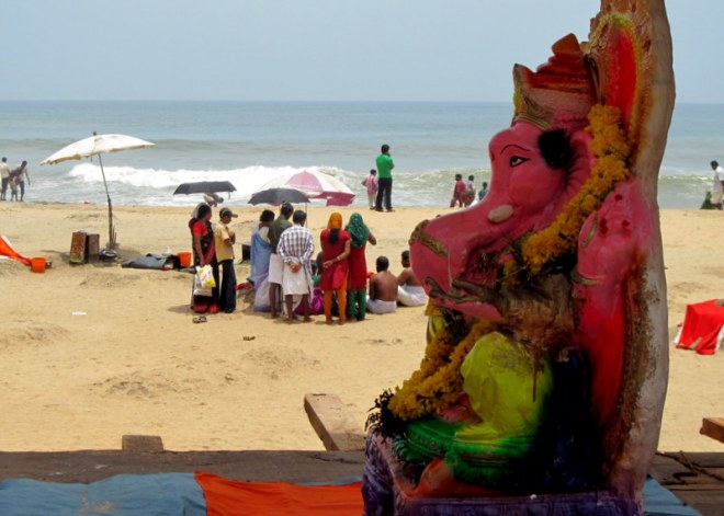 Ganesha by the sea