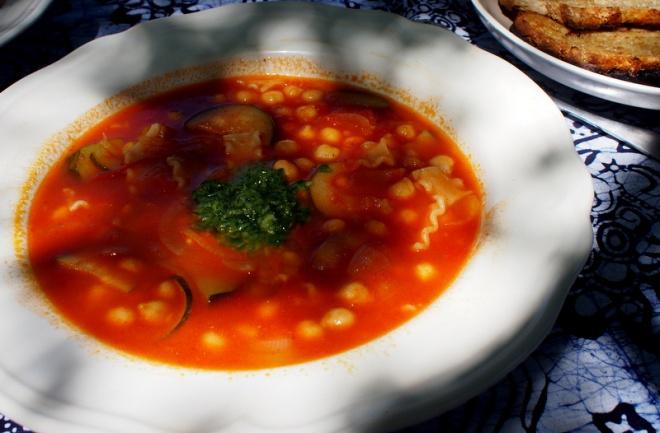 Summertime soup