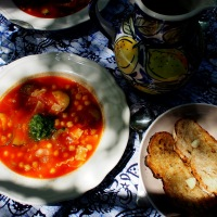 Minestra di Verdure Estive/ Summer Vegetable Soup