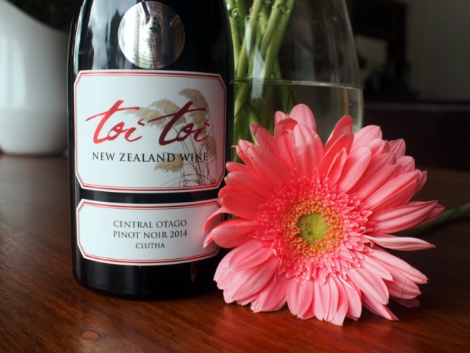 My favourite Pinot Noir, Toi Toi fron New Zealand.
