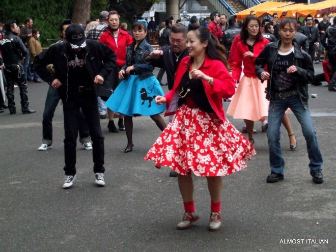 Japanese Rockabilly Dancers of