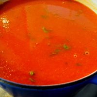 Moulin Rouge. Retro Tomato Soup.