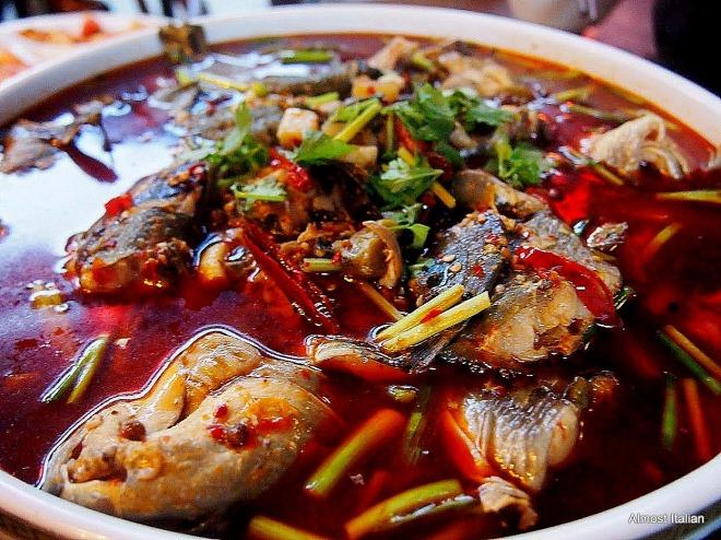 River fish hotpot, Sichian style