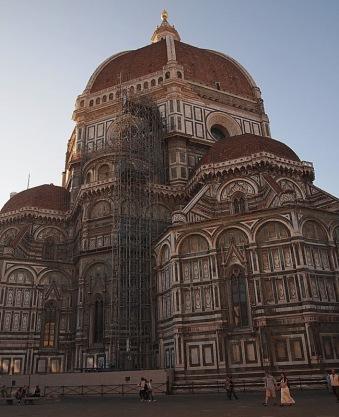 Duomo in restauro again