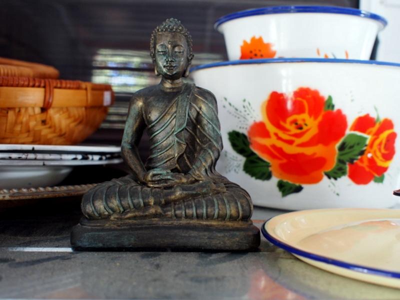 My Chinese Corner with Camping Buddha