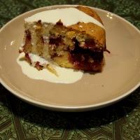 Rustic Italian Plum Cake